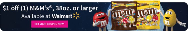 New M&M's® Coupon at Walmart For #GameNightIn #ad