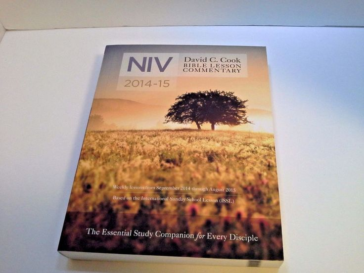 NIV Bible Lesson Commentary 2014-2015 by David C. Cook Essential Study Companion