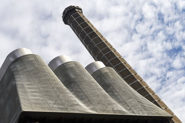 Tzannes Associates hide trigeneration cooling towers with zinc mesh netting at Irving Street Brewery | Architecture And Design