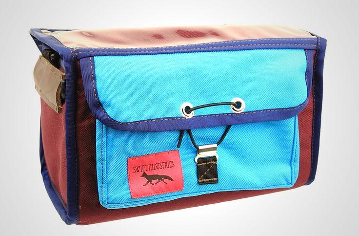 キュートすぎるランドナーバッグブランドSwift Industriesの新作paloma handlebar bag