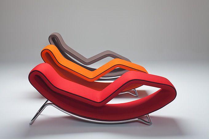 Monza -  chaise-longue Design Alberto Basaglia Natalia Rota Nodari