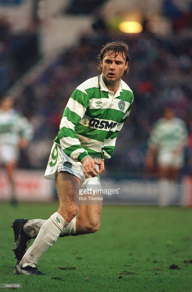 Tommy Coyne,2nd January 1991 Scottish Premier Division Rangers v Celtic