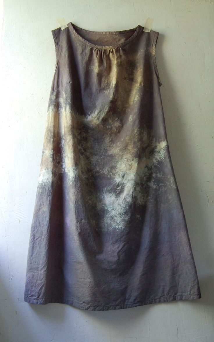 new enhabiten organic cotton hemp hand sewn and dyed dresses are almost ready for the shop!