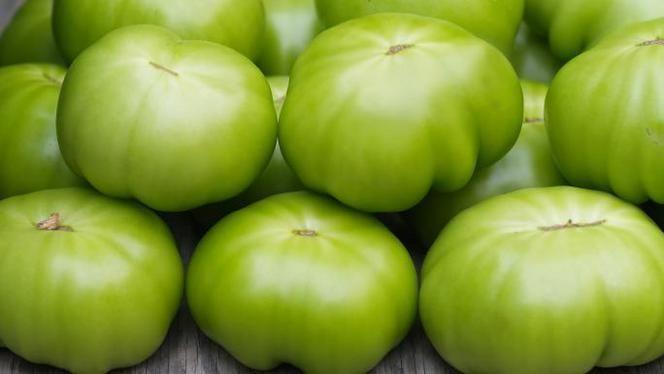 Gebakken groene tomaten