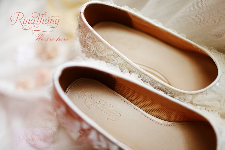 Wedding Shoes by Rina Thang
