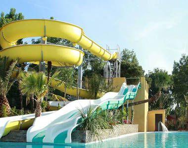 Camping RCN la Bastide en Ardeche - Ruoms - goede reviews, aan de rivier, verwarmd zwembad met glijbanen