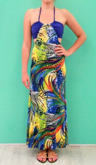 jungle maxi dress!