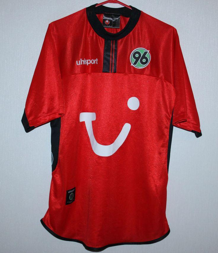 Vintage Hannover 96 Germany home shirt 02/03 Uhlsport | eBay