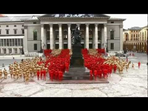 Spencer Tunick's RING - Munich Opera Festival 2012 http://www.youtube.com/watch?v=4X2CeTlOZS4