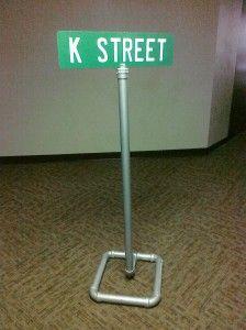 pvc sign posts #kidmin