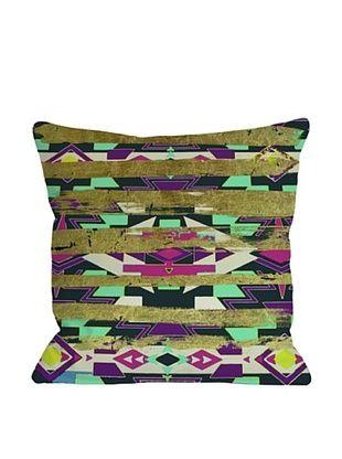 65% OFF Oliver Gal by One Bella Casa Navajo Neon Square Pillow, Neon Multi