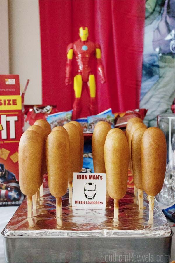 Host An Amazing Avengers Party | FREE Printables, Recipes & More - Southern Revivals