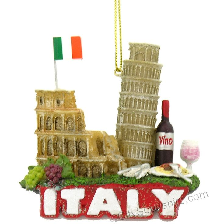 Italy Icons And Landmarks Christmas