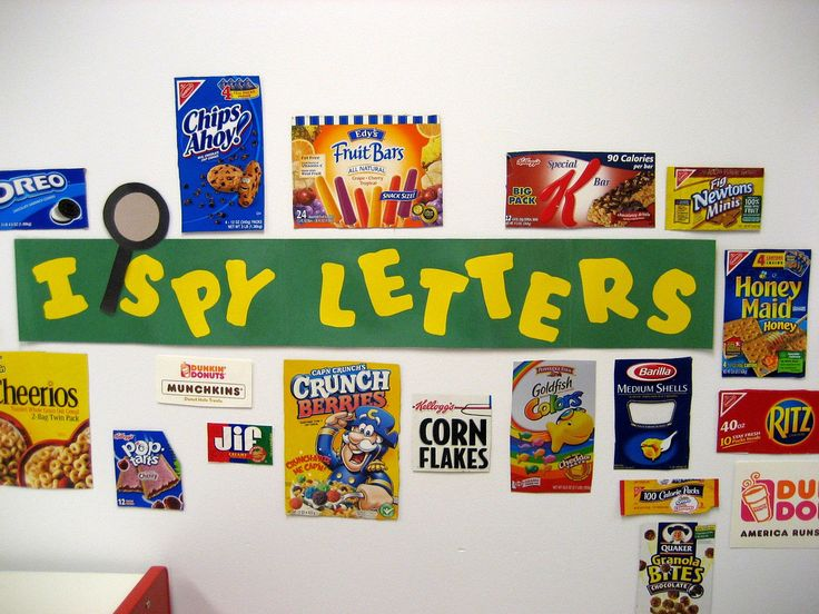 Letter Recognition-like this idea.....need to do this in my room next year!