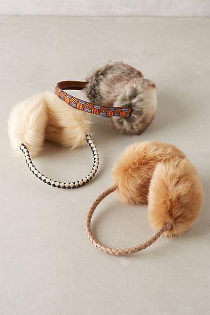 Faux-Fur Earmuffs - anthropologie.com #anthrofave