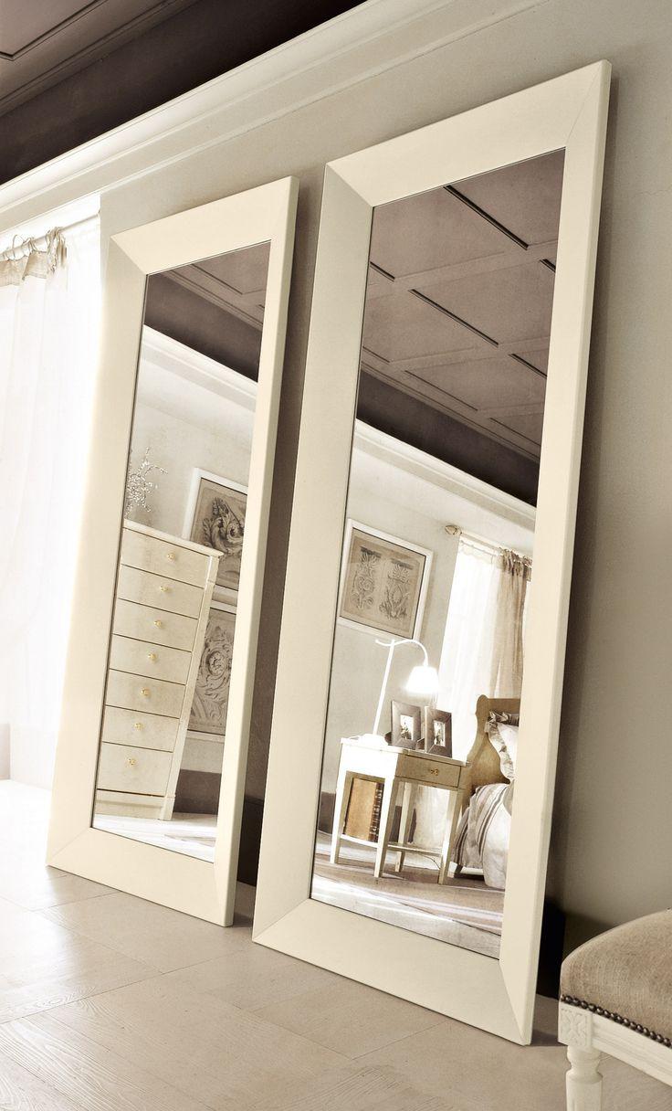 Black vanity salons vanities habitats the mirror outlets mirror - Mirror Wallcot Freestanding Mirror Minacciolo
