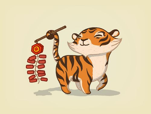 Thank Anneka Tran for the smile this little tiger gave you.