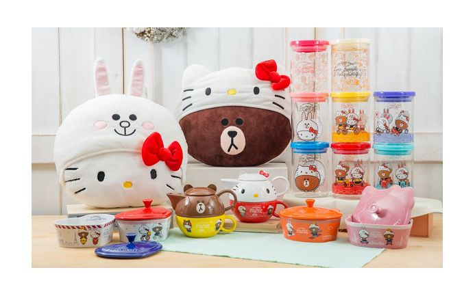 7-11 Taiwan brings Hello Kitty x Line Friends together as One