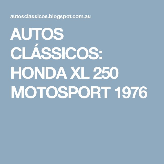 40 best Honda images on Pinterest | Motorbikes, Biking and Honda 125