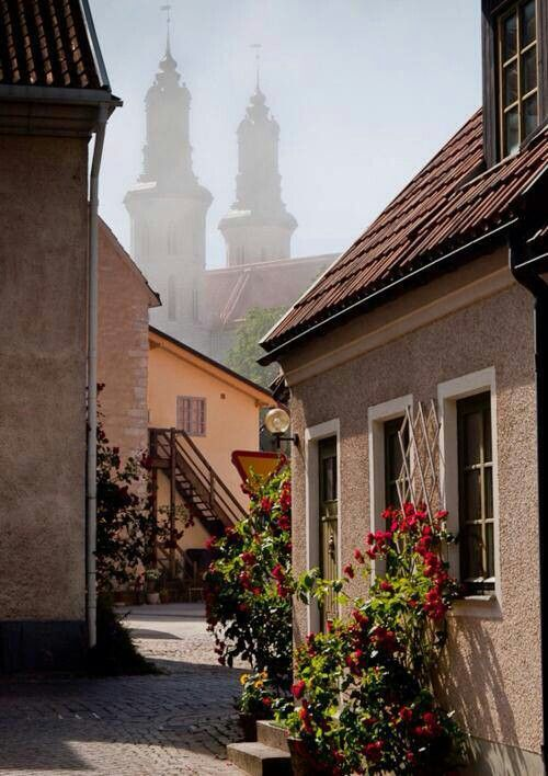 #Visby, The City of Roses, Sweden