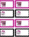 MH C Envelope, Monster High, Invitations - Free Printable Ideas from Family Shoppingbag.com