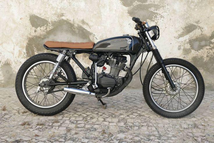 Honda Bratstyle #motorcycles #bratstyle #motos | caferacerpasion.com