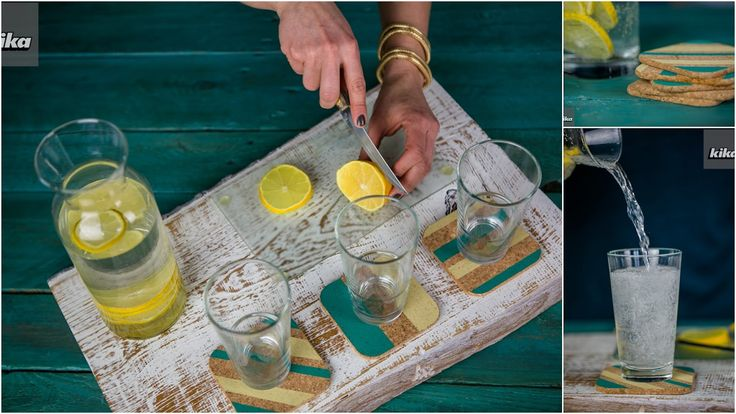 Decolady: Itt a kerti partik ideje, készíts velünk egyedi poháralátéteket!