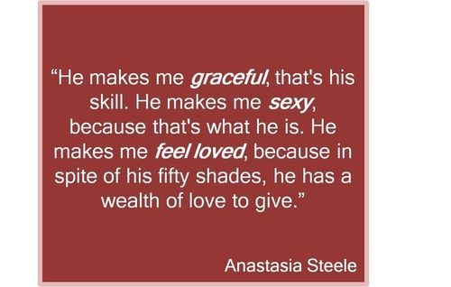 '50 Shades of Grey' in 15 Naughty Quotes