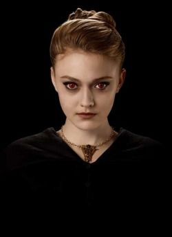 "Jane played by Dakota Fanning in ""The  Twilight Saga"""
