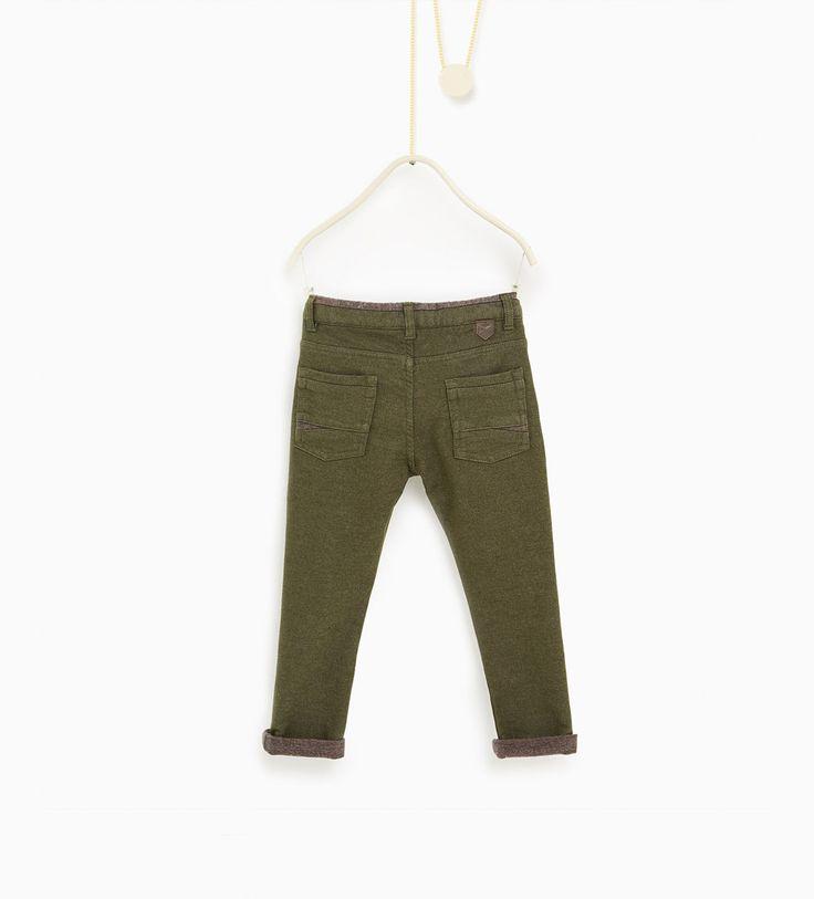ZARA - Enfants  |  4-14 ans - Pantalon à doublure en contraste