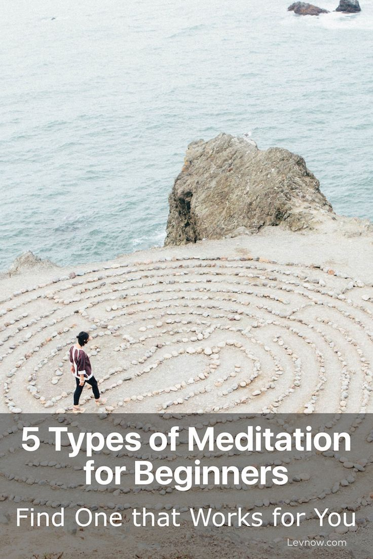 Here is a quick low down on the best types of meditation for beginners. If you have ever thought you wanted to meditate, then meditation is for you. Click to read more or pin and save it for later!