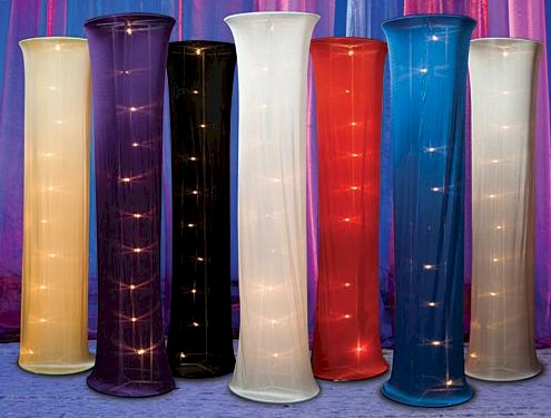 Wedding colander tall lighted decorations | Columns for Sale - Columns for Rent. Decoration Columns. Perfect for ...