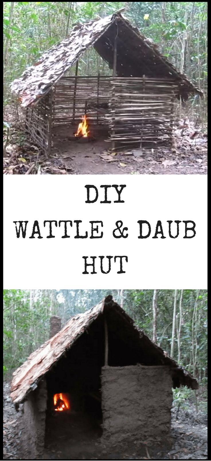 DIY Wattle and Daub Hut http://vid.staged.com/Yjgt