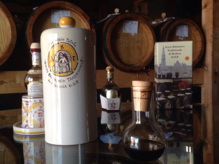 Amazing luxury bottles of Aceto balsamico tradizionale di Modena