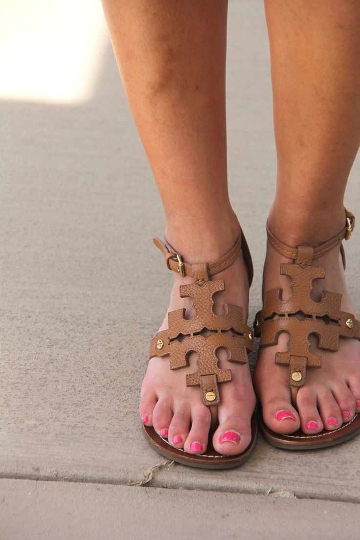 Tory Burch Chandler Sandals // PrepOfTheSouth