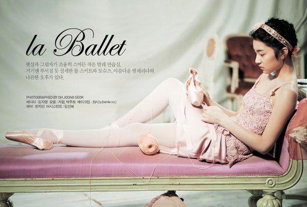 """Фотосессия """"Балет"""" от корейского .."""