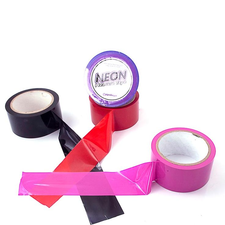 Kinky Bondage Tape Put your lover in a sticky situation with this non-stick bondage tape. It is easy to use and is visually stunning. So, wrap your lover up tonight - it is bound to please you both! Available at www.differentstrokes.co.za