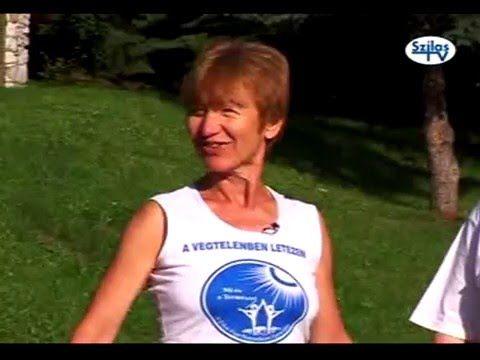 Etka Jóga foglalkozás Répáshután 2012 - YouTube