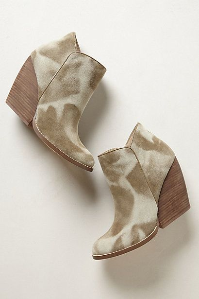 Jethro Booties #anthropologie