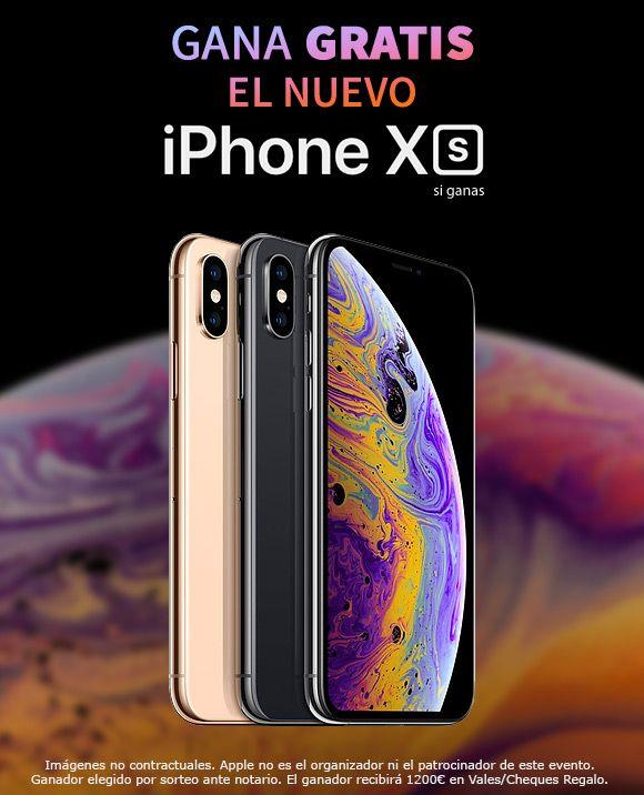 Avenida Consumo Iphone Xs Iphones Iphone Sorteo