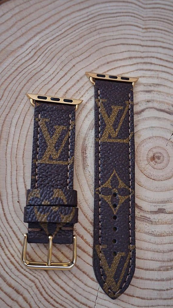 LV Straps cut from for Apple Watch. Monogram Canvas, Damier Azure Canvas, Damier Ebene Canvas. APPLE Watch Series :1 - Series :2 - Series: 3 Compatible 38 mm and 42 mm = LV STRAPS + CONNECTOR + BUCKLE ( SET ) : 50 USD. ***FREE Shipping when you order 2 products express Ups cargo***