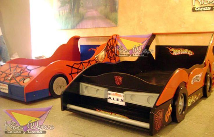 Fabulosas Camas auto: Habitaciones infantiles de estilo  por camas y literas infantiles kids world