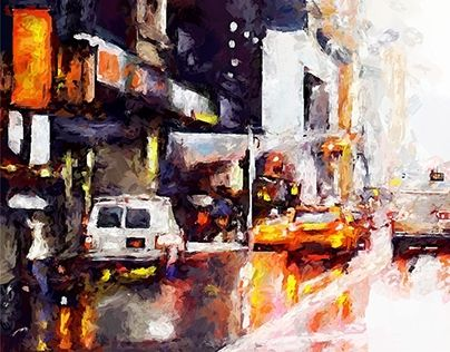 "Check out new work on my @Behance portfolio: ""Rain Street"" http://be.net/gallery/35788205/Rain-Street"