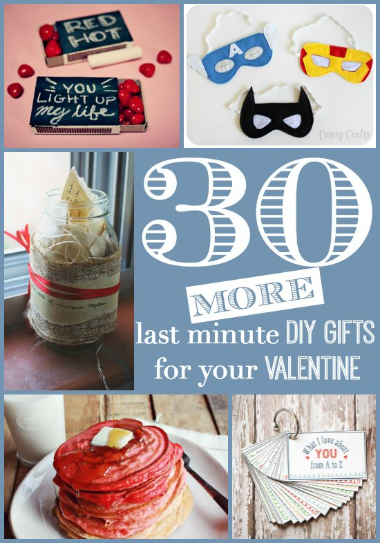 30 More Last Minute DIY Gifts For Your Valentine | No More Stress Outs  Allowed