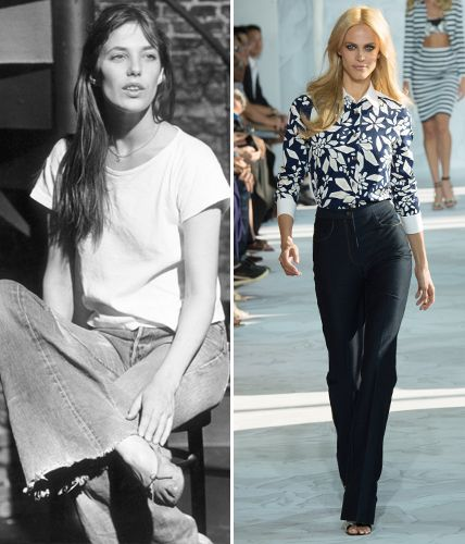 Then and Now: These Sexy '70s Trends Are Making a Comeback - Denim Flares  - from InStyle.com