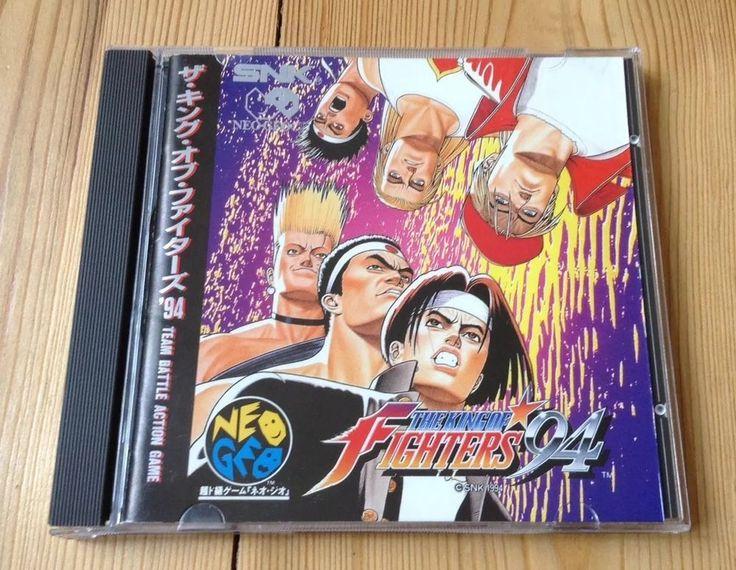 THE KING OF FIGHTERS 94 NEO GEO CD KOF 1994 SNK JAPAN COMPLETE UK FREE POST#kof94 #videogames #neogeo #retro