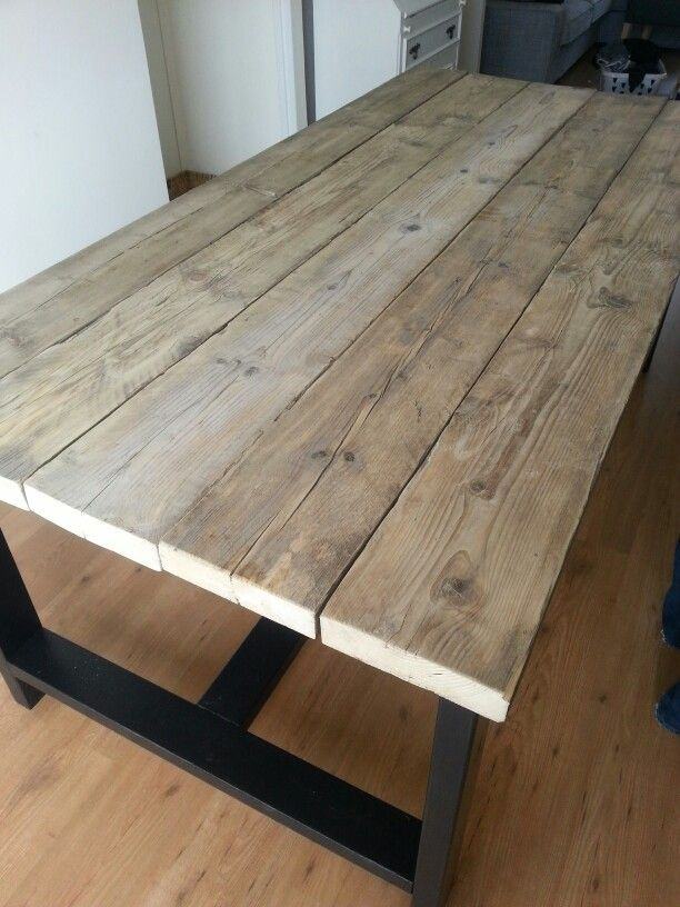 Love my new homemade table!