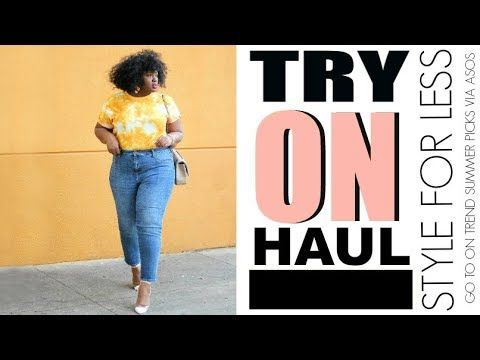 b368f35cf82 ASOS AFFORDABLE SUMMER 🛍️SPRING TRY ON CLOTHING HAUL I PLUS SIZE ...