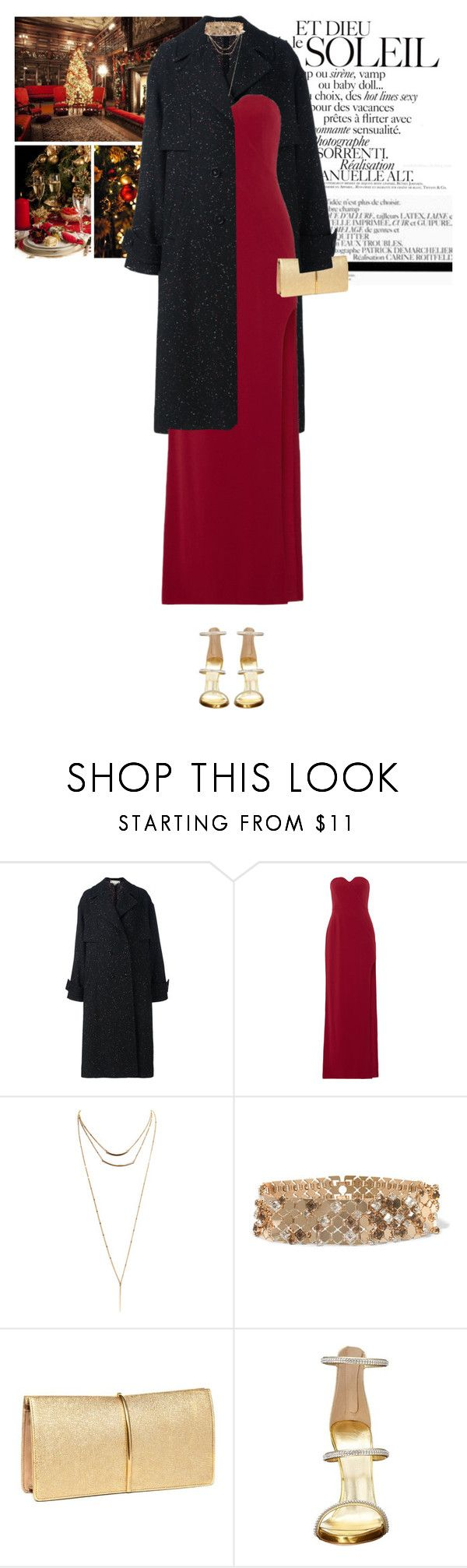 """""""It's the most wonderful time of the year, with the kids jingle-belling, and everyone telling you be of good cheer. It's the most wonderful time of the year, it's the happiest season of all, with those holiday greetings and great happy meetings."""" by vicky-carter ❤ liked on Polyvore featuring Biltmore, STELLA McCARTNEY, Halston Heritage, Wet Seal, Lanvin, Nina Ricci and Giuseppe Zanotti"""