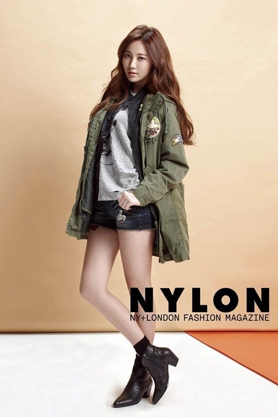 Girl's Day member Yura in Nylon Magazine